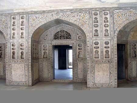image گزارش تصویری زیبا از قلعه آگره هند