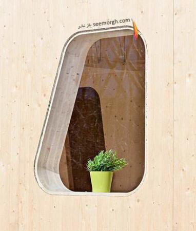 image تصاویر دیدنی از کوچکترین خانه چوبی در جهان