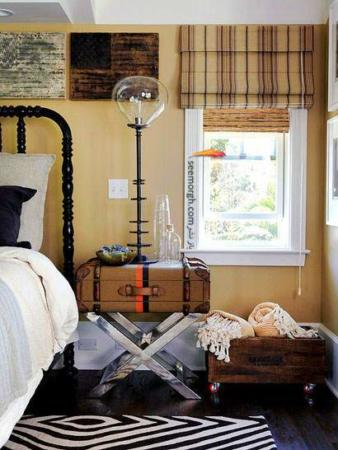 image, چیدمان و دکور شیک خانه با وسائل ارزان و قدیمی