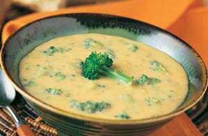 image طرز تهیه سوپ پنیر چدار رژیمی و خوشمزه