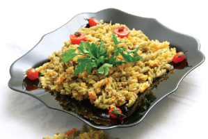 image آموزش پخت پاستای رژیمی با سبزیجات