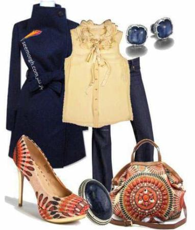 image ست های جدید لباس برای خانم های شیک پوش پاییزی