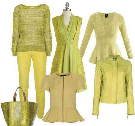 image راهنمای تصویری انتخاب رنگ و لباس مناسب فصل پاییز