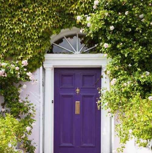image, راهنمای انتخاب بهترین رنگ برای درب ورودی منزل