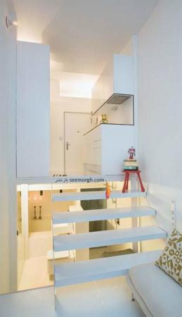 image, ایده های جالب برای ساخت آپارتمان خیلی کوچک و شیک