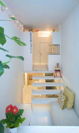 image ایده های جالب برای ساخت آپارتمان خیلی کوچک و شیک