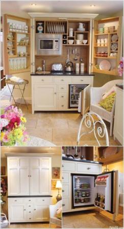 image دکوراسیون برای بزرگ نشان دادن خانه های کوچک