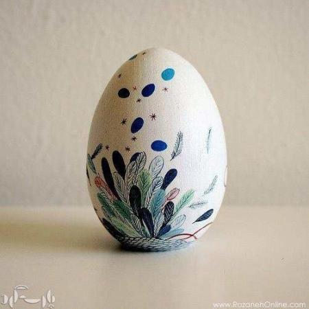 image کلی ایده جالب طراحی تخم مرغ رنگی های هفت سین