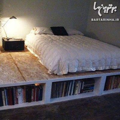 image چطور خودمان در خانه تختخواب بسازیم