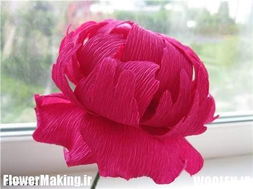 image عکس به عکس به طور تصویری گل تزیینی بسازید