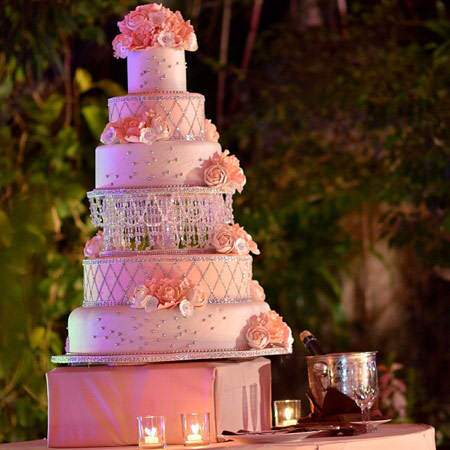 image زیباترین مدل های کیک عروسی برای زوج های خوش سلیقه