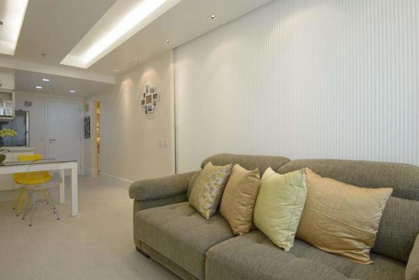 image نقشه ساخت آپارتمان ۴۵ متری با بهترین استفاده از فضا