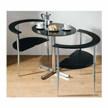 image, ایده ساخت کمجا ترین میز و صندلی غذاخوری ۲ نفره