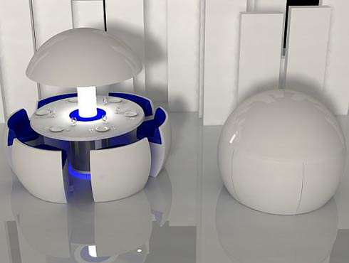 image مدل طراحی مدرن کمجا ترین میز غذاخوری دنیا