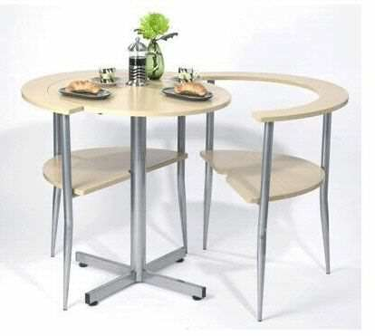 image ایده ساخت کمجا ترین میز و صندلی غذاخوری ۲ نفره