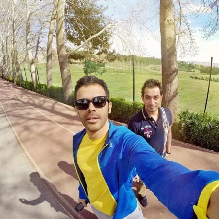 image عکس جدید سیروان خسروی در پارک بهاری