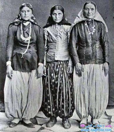 image عکس دیدنی زنان باکلاس دوره قاجاریه
