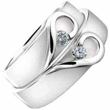 image, زیباترین مدل های حلقه های طلای سفید