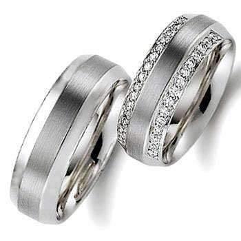 image زیباترین مدل های حلقه های طلای سفید