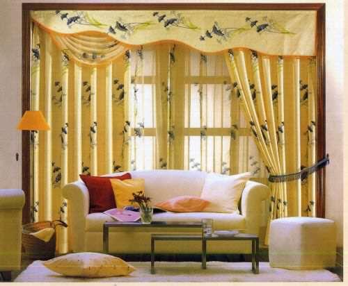 image مدل های زیبای پرده سلطنتی مدرن برای آپارتمان