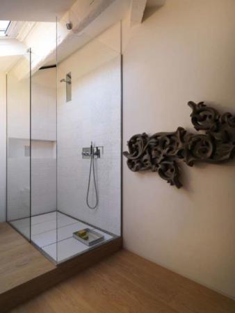 image, تصویری دکوراسیون مدرن و سفید آپارتمان کوچک
