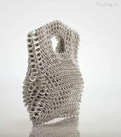 image, آموزش ساخت کیف دستی با در قوطی نوشابه