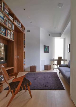 image دکوراسیون بی نظیر آپارتمان کوچک سبک