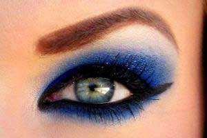 image, آموزش قدم به قدم آرایش چشم مدل فرشته برف