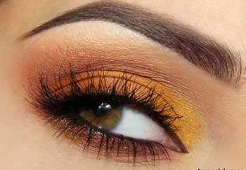 image, آموزش آرایش مخصوص چشم های قهوه ای