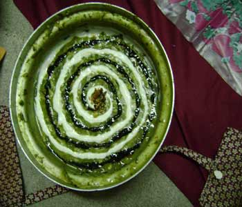 image, تزیین های زیبای آش رشته با کشک برای افطار