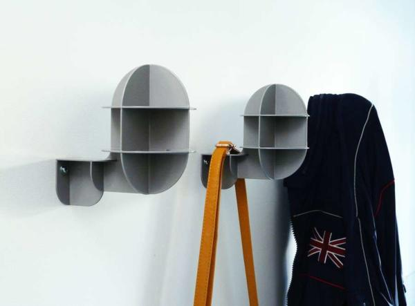 image طراحی مدل جدید چوب لباس دیواری