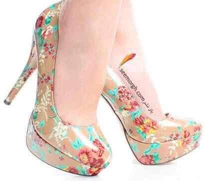 image, مدل های جدید کفش زنانه بهار ۱۳۹۳