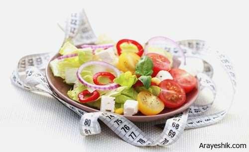 image غذاهای جادویی برای آب کردن چربی شکم
