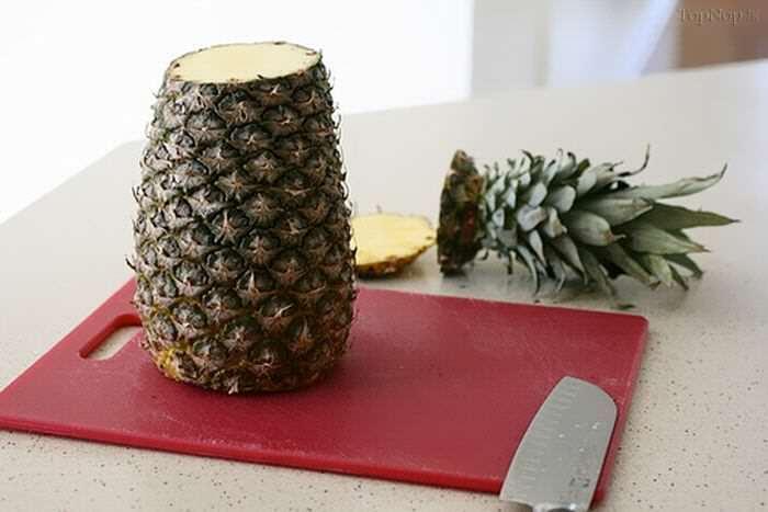 image آموزش درست کردن گل آناناسی برای کیک