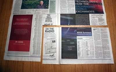 image آموزش تصویری ساخت  پاکت خرید با روزنامه