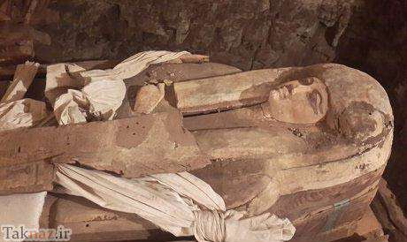image عکس دیدنی آختانن فرعون تازه کشف شده مصر
