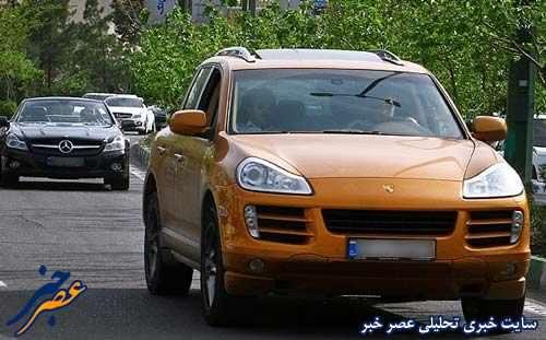 عکس, عکس های دیدنی ماشین های مدل بالای تهران