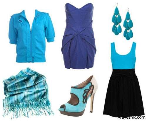 image رازهای جالب رنگ آبی و لباس های آبی رنگ
