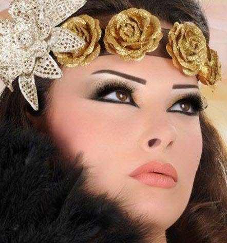 image جدیدترین مدل آرایش خلیجی عروس برای آرایشگران
