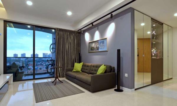 image نحوه چیدمان آپارتمان کوچک سبک شیک و کاربردی