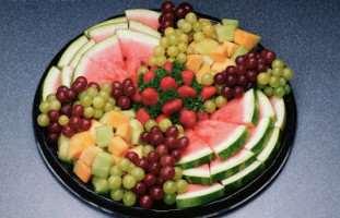 image, شیک ترین تزیین های سبد میوه برای مهمانی ها