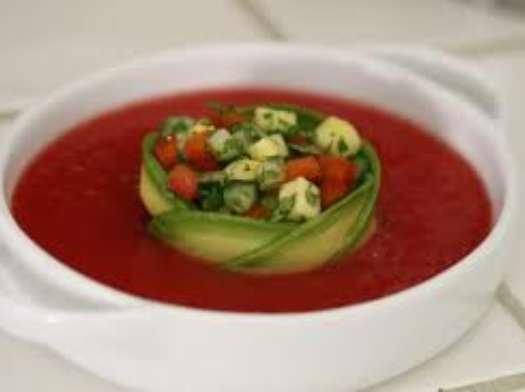 image آموزش تزیین سوپ با مدل های زیبا و شیک
