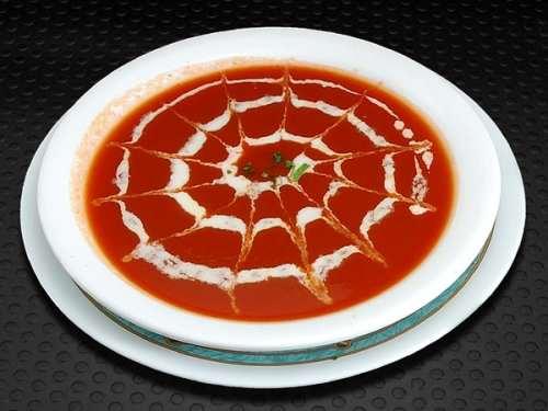 image, آموزش تزیین سوپ با مدل های زیبا و شیک
