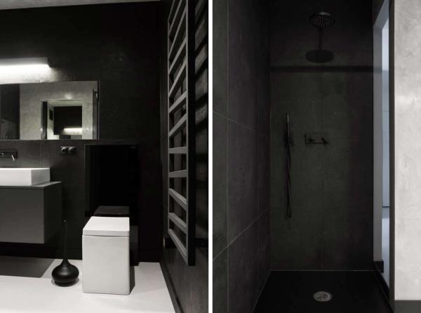 عکس, آموزش دکور آپارتمان سبک مردانه سیاه و سفید