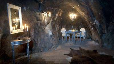 image عکس های هتل زیرزمینی دیدنی در معدن