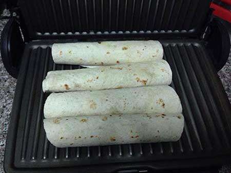 image طرز تهیه ساندویچ شیک شاورما مکزیکى