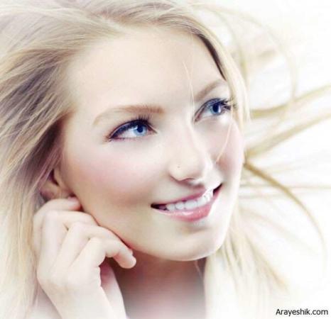 image آموزش آرایش صورت با پوست روشن