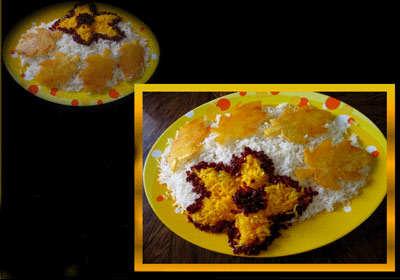 image, شیک ترین تزیینات برنج برای مهمانی ها