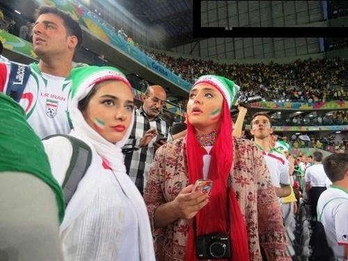 image عکس بازیگران ایرانی در جام جهانی