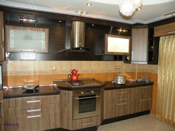 image, شیک ترین مدل کابینت های MDF آشپزخانه ایرانی